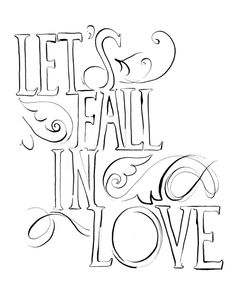 Calligraphy & Typography - Julie Olmstead