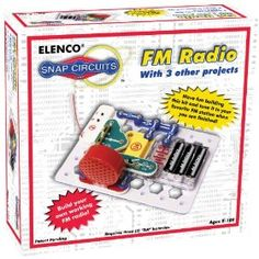 FM Radio + 3 other projects by Snap Circuits. $16.09 HOMESCHOOL