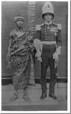 The Asante king Otumfuo Nana Osei Tutu Agyeman Prempeh II (ruled 1931-1970)