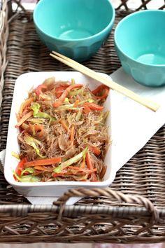 Asian Recipes, My Recipes, Healthy Recipes, Ethnic Recipes, Hungarian Recipes, Hungarian Food, Quiche Recipes, Garlic Bread, Japchae
