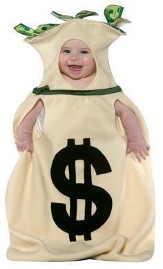 Ik leg geld opzij voor onze toekomstige baby.