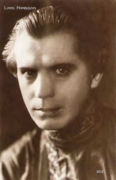 https://flic.kr/p/FbPugu | Lars Hanson | French postcard by Cinémagazine-Edition, no. 363.  Lars Hanson (1886-1965) was a highly successful Swedish film and stage actor mostly remembered for his motion picture roles during the silent film era, both in Scandinavia and Hollywood.  For more postcards, a bio and clips check out our blog European Film Star Postcards Already over 3 million views! Or follow us at Tumblr or Pinterest.