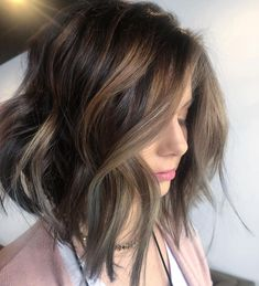 @mikaatbhc on Instagram: Monday Melts. Base: 3N redken shades EQ Balayaged 40 vol + @brazilianbondbuilder Toned>> 8V+9B redken shades EQ @redken This fun texture tousled cut was styled with @matrixColor Care Liveraw collection