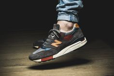 "New Balance M998DBR ""Made in USA"" 