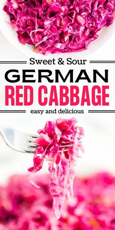 Red Cabbage is one of the most popular German sides. And with good reason. It's beautiful purple-red cabbage is cooked tender and strikes the perfect sweet and sour balance. Goes great with beef, fish, and even game dishes. #cheerfulcook #redcabbage #rotkohl #sidedish #german #recipe #easy cheerfulcook.com