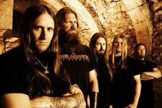 Amon Amarth is the only viking metal band I've ever heard of. They have a very unique melodic death style.
