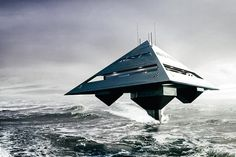 This Schwinge Hyswas Tetrahedron Superyacht Is the Stuff of Dreams