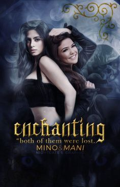 title: enchantingface claim(s): emeraude toubia & danielle campellfor mani and i up coming book on hoeIand