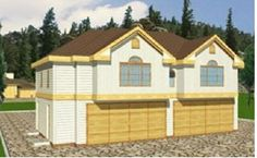 Design Connection, LLC - Garage Plans & Garage Designs - Plan detail