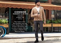 The Connor Modern Slim Fit #Chino | Inspired by: The Connor #ClubMonacoChinos