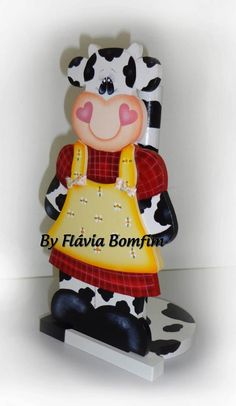 Cow paper towel holder