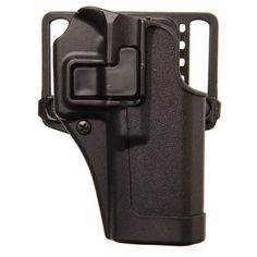 BlackHawk CQC SERPA Holster With Belt and Paddle Attachment, Fits Springfield XD, Right Hand, Black - Endless Box - 2