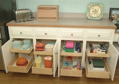 Home-Dzine - DIY pull-out storage drawers