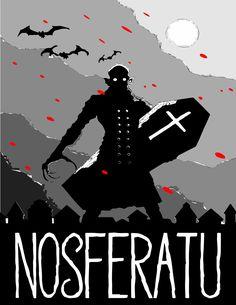 """Re edición de portada """"Nosferatu"""""""