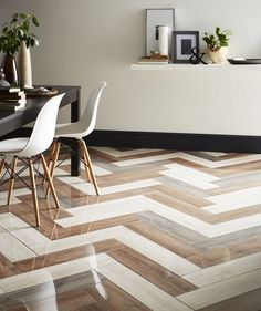 15 fabulous flooring ideas wood carpets and tiles Give your living space a moder. 15 fabulous flooring ideas wood carpets and tiles Give your living space a modern edge with these s Wood Floor Design, Tile Design, Design Desk, Layout Design, Furniture Design, Web Design, Logo Design, Graphic Design, Wood Effect Porcelain Tiles
