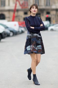 Jeanne Damas Off Duty Street Style Inspiration