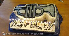 Coolest Trumpet Cake... Coolest Birthday Cake Ideas