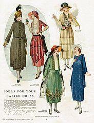 Spring fashion 1921