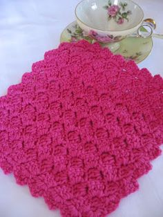Foothills of the Great Smoky Mountains: Tulip Stitch Cloth