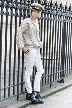 Haute Couture Fashion Show Street Style Pictures 2013