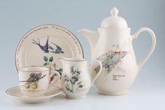 My favorite all time dishes!  // Noritake -  The Country Diary of an Edwardian Lady