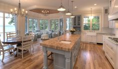 House of Turquoise: MAC Custom Homes: my dream home. Love how light and airy all the rooms are.