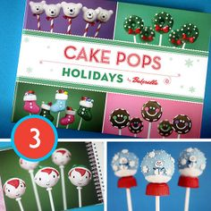@Bakerella's Holiday Picks: Cake Pops Holidays
