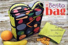 Bento Bag ~ A Lunch bag Tutorial