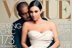 Kim Kardashian se sale con la suya y posa para VOGUE (FOTOS)
