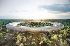 Apple Campus 2 Shown Off in 3D Render Flyover [Video] - http://iClarified.com/41758 - This video shows an aerial perspective on how Apple's Campus 2 will look like thanks to a 3D render flyover created by Technology Integration Services.