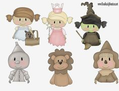 Wizard of Oz: So Cute Free Printable Toppers.