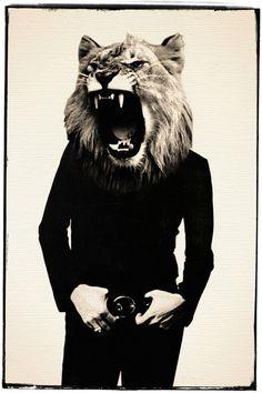 Lion Roar Art