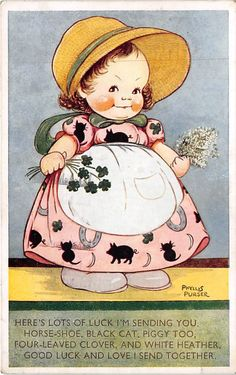 Phyllis M Purser postcard