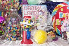 Candyland Birthday Party Ideas | Photo 1 of 31 | Catch My Party