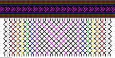 Friendship bracelet pattern 89075 new