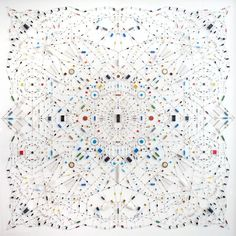 'Technological Mandala' by Leonardo Ulian
