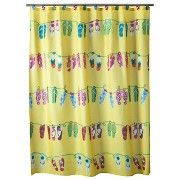 Hanging Loose Shower Curtain