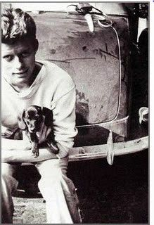 John F. Kennedy and his Dachshund