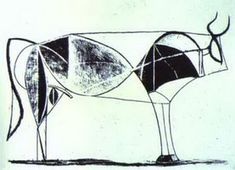Pablo Picasso. The Bull. State VII, 1945
