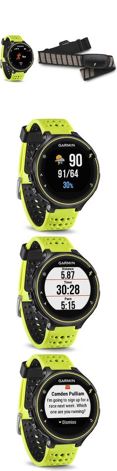 GPS and Running Watches 75230: Garmin Forerunner 230 Gps Force Yellow Watch With Chest Strap Heart Rate Monitor -> BUY IT NOW ONLY: $199.99 on eBay!