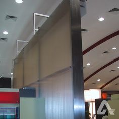 Room dividers built with translucent multiwall polycarbonate panels provide privacy without blocking natural light from exterior windows. Exterior Windows, Polycarbonate Panels, Room Dividers, Commercial Interiors, Room Interior, Natural Light, Ceiling Lights, Bedroom, Home Decor