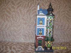 Department 56 Cafe Caprice French Restaurant 1996 Retired Christmas In The City Christmas In The City, Dickens Village, French Restaurants, Department 56, Christmas Ornaments, Holiday Decor, Home Decor, Decoration Home, Room Decor
