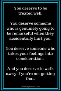"""Are you tired of being used, no matter how well you treat people? Can you relate to this story? """"I'm tired of being disrespected. I'm tired of being used. I'm tired of my needs and wants always coming last, if at all. I'm tired of being hurt. I'm tired. I ……"""
