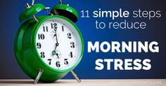 11 Simple Steps To Reduce Morning Stress | healthylivinghowto.com.  #10. Never drive home with an empty gas tank is the best good thing you can do for yourself.