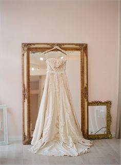 organic wedding gown at the lovely bride in los angeles...xoxo photo by http://www.kissthegroom.com