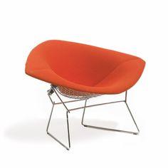 Bertoia Large Diamond Chair | Knoll. Designed by Harry Bertoia, 1952