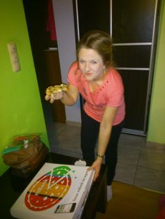 Pyszna gorąca pizza  dziękuję :) #aplikacjamBanku https://www.facebook.com/photo.php?fbid=624614514285189&set=p.624614514285189&type=1&theater