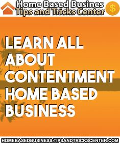 #homebasedbusiness #contentment