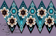 Beaded Earrings Patterns, Peyote Patterns, Beading Patterns, Crochet Snowflake Pattern, Crochet Flower Tutorial, Seed Bead Flowers, Beaded Flowers, Bead Crochet Rope, Beaded Christmas Ornaments