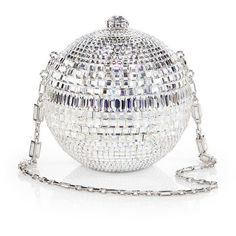 Judith Leiber Ballroom Crystal Sphere Convertible Clutch This is so happening for New Years Eve.